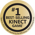 #1 Best-Selling Kinect Game*