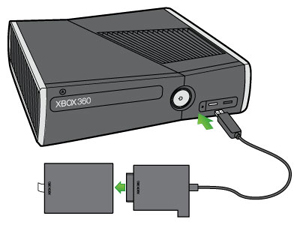 Connect to an Xbox 360 S Hard Drive