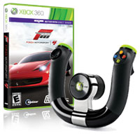 Forza Motorsport 4 + Xbox 360 Wireless Speed Wheel
