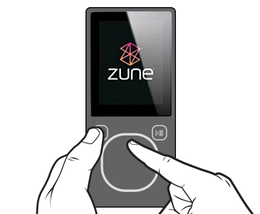 Download or reinstall the Zune Music + Video software and Zune player software