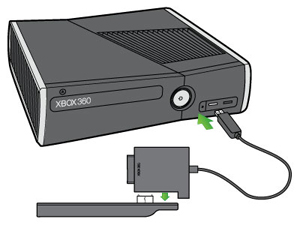 Connect to an original Xbox 360 Hard Drive