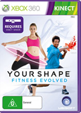 Your Shape: Fitness Evolved Game Box