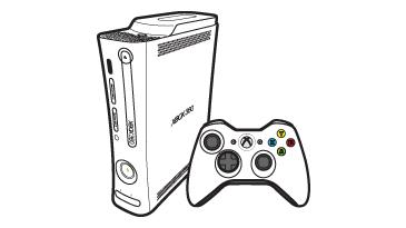 Den originale Xbox 360-konsollen