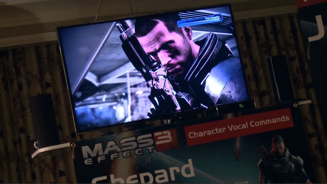 Mass Effect 3 with Kinect