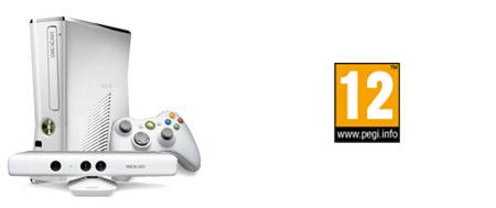 Οικογενειακό πακέτο Xbox 360 Special Edition 4GB Kinect