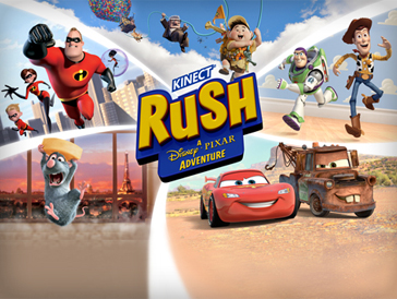 KINECT RUSH A Disney PIXAR Adventure