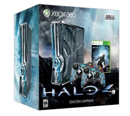 Xbox 360 320GB Consola Edición Limitada de Halo 4