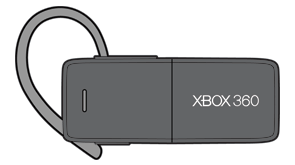 An Xbox 360 Wireless Headset with Bluetooth.