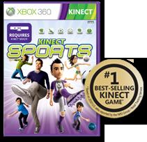 Kinect Sports: #1 en ventas