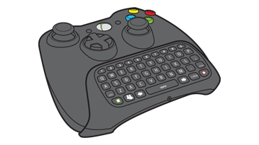 Set up Xbox 360 Chatpad   Use Xbox 360 Chatpad as Controller