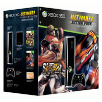 Xbox 360 Limited Edition Ultimate Action Pack Bundle