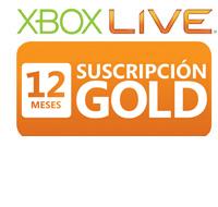 Xbox LIVE Tarjeta de Suscripción Gold de 12 Meses