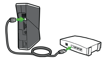 xbox router: